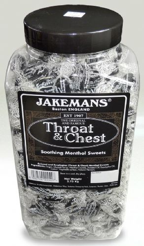 PP1 JAR  JAKEMANS THROAT AND CHEST